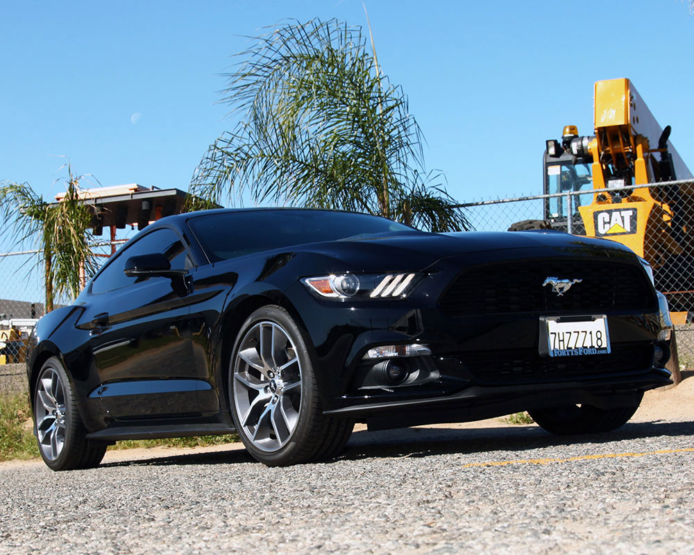 2015 2016 Ford Mustang Fastback V6 Or Convertible V6 3 7l Gains Power With K N Air Intake