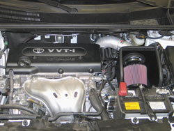K&N's 2008 to 2012 Scion xB Air Intake Installed