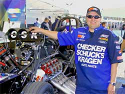 CSK Funny Car Driver Jeff Arend