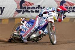 Australian Ace Jason Crump, photo by Mike Patrick