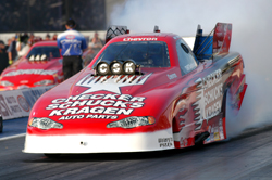 Del Worsham and the CSK impala funny car