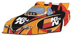 Concept K&N Car Design for the 2006 NHRA Gatornationals