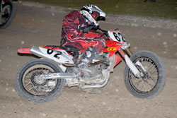Luke Gough held the 450cc Australian Long Track title for three consecutive years from 2005 to 2007