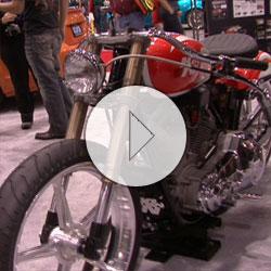 Modified Harley Davidson Retro Speedster Honors K&N's 40th Anniversary at SEMA