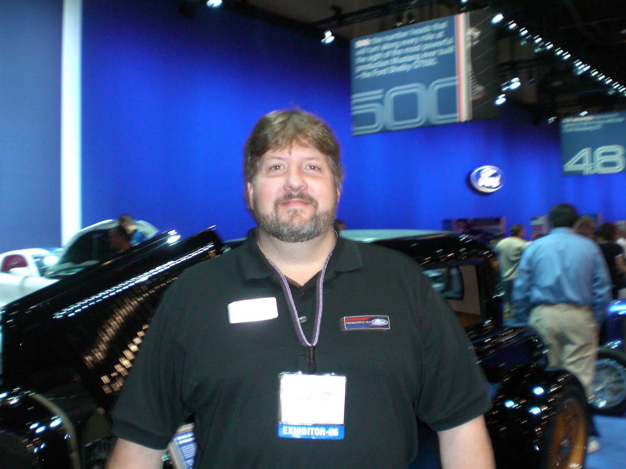 Ray Evans of Ford Motor Company uses K&N Filters on most special projects.