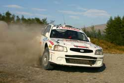 Craig Middleton's Hyundai Accent WRC