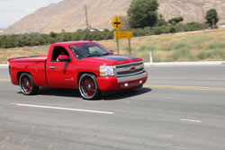 Max Navarrete has taken his Modified 2008 Chevrolet Silverado RST with a 5.3 liter engine to 11 truck shows so far in 2009
