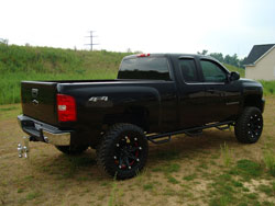 Lifted 2008 Chevy Silverado 1500 won Ride of the Month in August of 2009