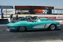 K&N's Steve Williams' 1962 Corvette