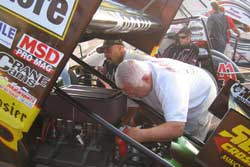 World of Outlaws Points Leader uses K&N Carbon Fiber Airbox