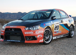 Mitsubishi Lancer Evo X will debut at Rally of the Tall Pines near Bancroft, Ontario in Canada