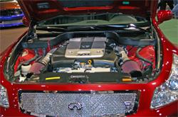 K&N air intake system 69-7082TS on modified Infiniti 2008 G37 Sedan Concept