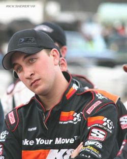 The 2009 race season was the best season of Andrew's whole racing career