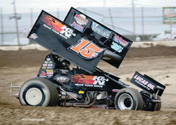 Andrews hopes to compete in the World of Outlaws Sprint Car Series or NASCAR Camping World Truck Series in the future