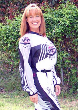 Boiling Springs, South Carolina quad racer Angela Horn is currently in 10th place in the Can-Am Grand National Cross Country Championship Series Women's Novice Division