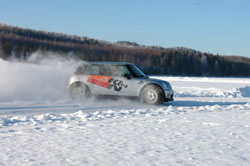 Aaltonen Arctic Driving Experience runs from Dec. 30, 2009 until Jan. 31, 2010 at Louhosareena