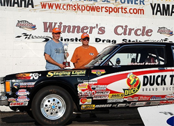 Summit Pro-Am Winner's Circle for Michael Beard and his 1980 Volare