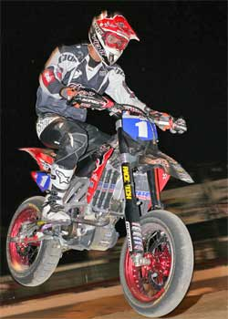 Ben Carlson is 2007 AMA Supermoto Unlimited Champion