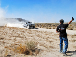 Torchmate Ford Ranger Team won the Best in the Desert Silver State 300 race by 5 minutes and 17 seconds, photo by Mike Aiello