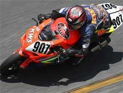 Ben Thompson at Daytona, photo courtesy of Brian J. Nelson