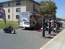 Black Hawk Customs AAFES Tour 2010 truck says it all