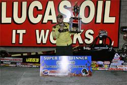 portsman Class Racer Luke Bogacki has back to back wins at Las Vegas Thanksgiving Bracket Nationals