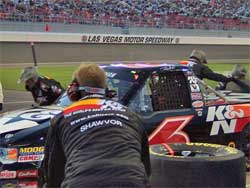 The No. 6 K&N Filters Ford F-150 at Las Vegas, photo by Bonnie Kind