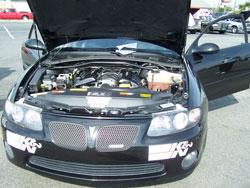 K&N Cold Air Intake Installed in Custom 2004 Pontiac GTO
