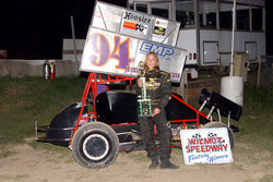 Jessica Brannam has already accumulated 213 feature victories