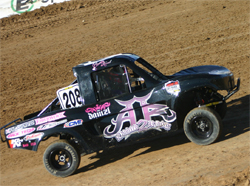 Brooke Kawell took 4th place in the SXS Stadium Series