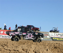 California girl likes to drive fast and collect trophies, her goal is to drive at Baja