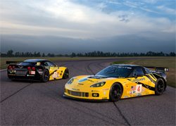 The next generation Corvette C6.R will make its debute at an American Le Mans Series event at the Mid-Ohio Sports Car Course, photo by GM Corp.