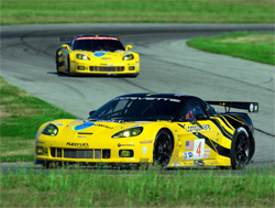 Corvette Racing's roster of championship winning drivers will remain the same with Johnny O'Connell and Jan Magnussen sharing the No. 3 Compuware Corvette C6.R and Oliver Gavin and Olivier Beretta sharing the No. 4 Compuware Corvette C6.R, photo by GM Corp.