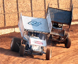 Racer Andy Forsberg will next head to wine country at the Calistoga Speedway for a 360 Civil War Race