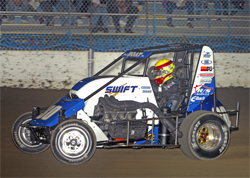 Billy Boat dominated Kokomo Speedway during the 22nd edition of Indiana Sprint Week