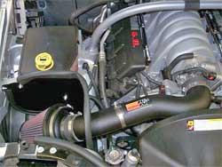 Air Intake Installed in Jeep Cherokee