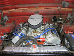 The Cherry Bomb 1964 Dodge D-100  with K&N Custom Assembly
