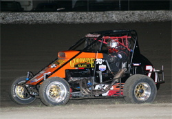 USAC Ford Focus Midgets had a double header weekend at Ocean Speedway in Watsonville, California and Kings Speedway in Hanford, California