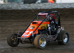 K&N sponsored teen Cody Swanson finished 3rd at Kings Speedway in Hanford, California in the USAC Ford Focus Midget Series