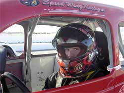 Cody Swanson ends rookie year in Legends Car Series