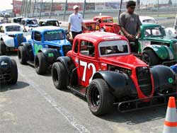Cody Swanson drove variety of Legends cars with K&N products