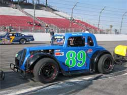 Speed Wong Racing Legends Car at Irwindale