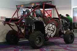 Yamaha Rhino with R1 motor