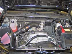 Air Intake Installed in 2007 Chevrolet Chevy Colorado