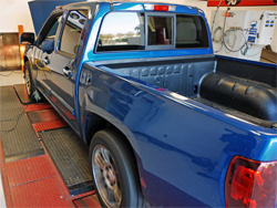 2009 is the first year GM has produced a Chevrolet Colorado with a V8 engine