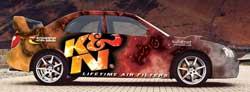 Artist Rendering of K&N Car for X Games
