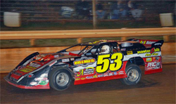 Late Model Dirt Series driver was fastest racer on the track in southern Tennessee venue