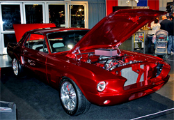 1967 Mustang will be on display at the 2010 Grand National Roadster show