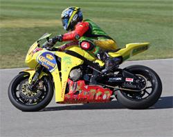 Autoclub Speedway Superbike Race in Fontana, California