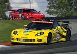 Corvette Racing's next event in the American Le Mans Series will be at Road America in Elkhart Lake, Wisconsin on August 14-16, photo by GM Corp